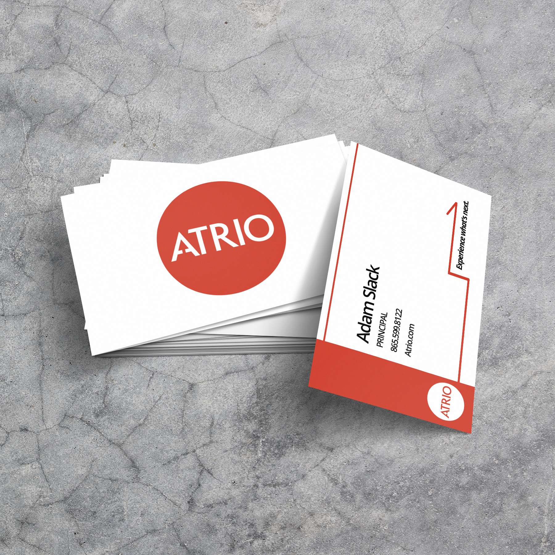 Atrio Business Card Mockup