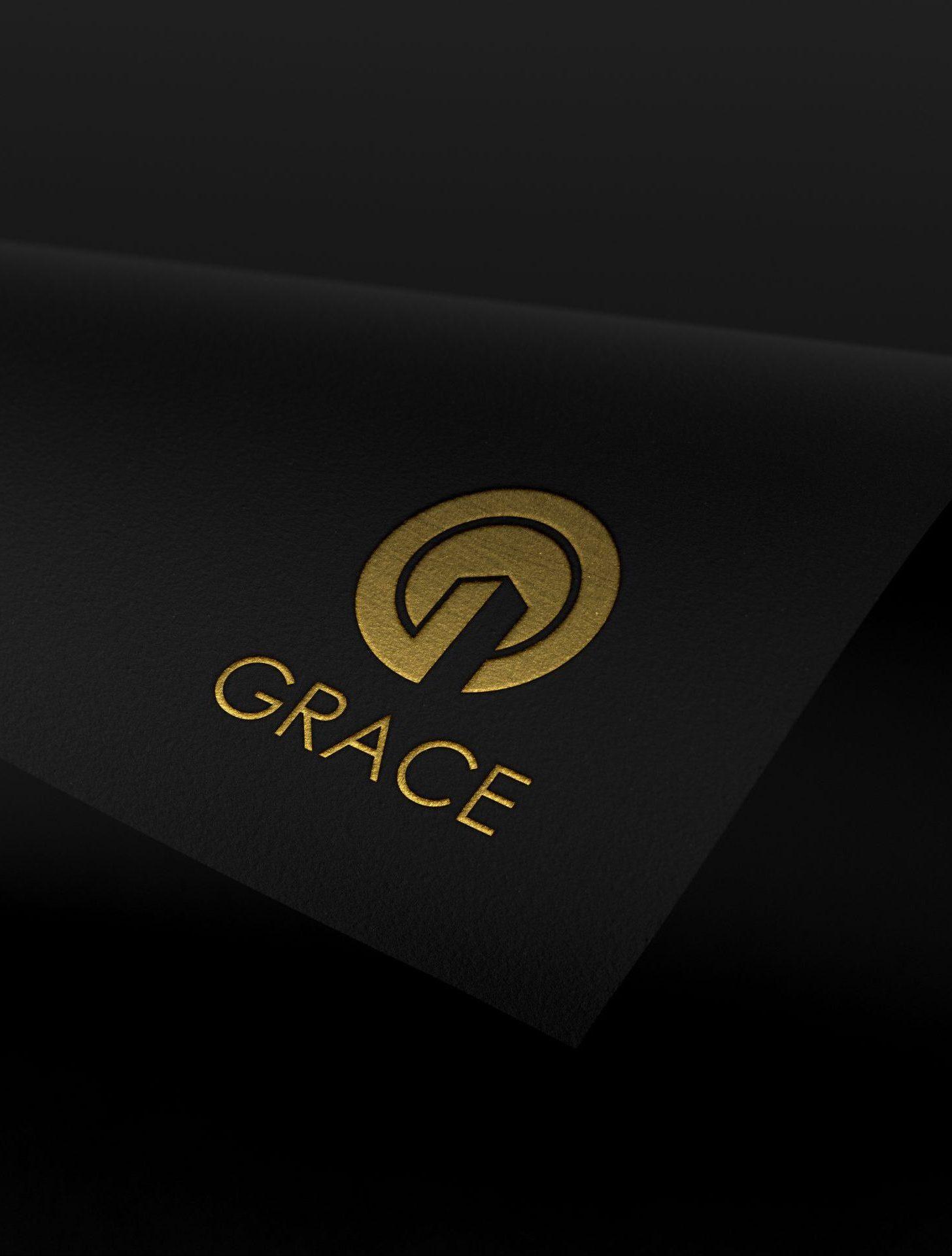 Grace Construction Chattanooga, TN Logo Mockup
