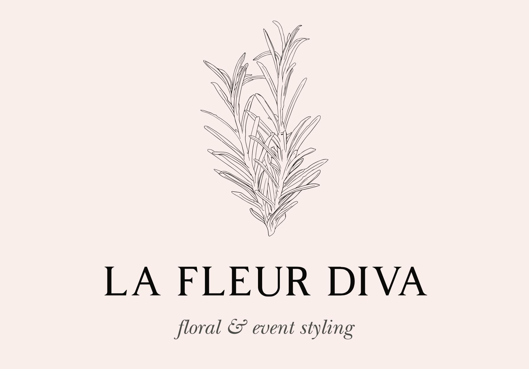 La Fleur Diva Logo Design